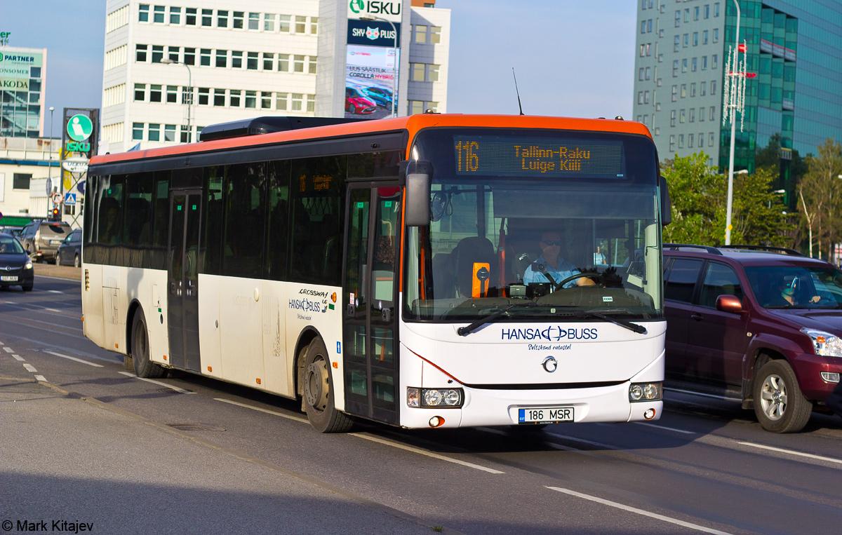 Tallinn, Irisbus Crossway LE 12M № 186 MSR