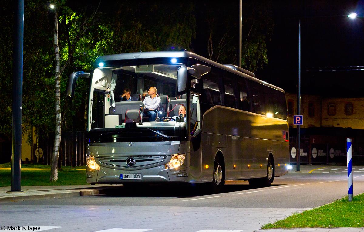 Tallinn, Mercedes-Benz Tourismo 15RHD-III № 081 DBY