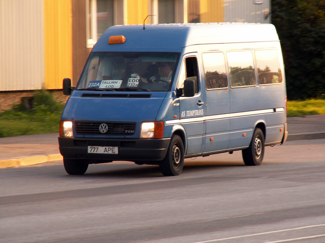 Maardu, Volkswagen LT35 № 777 APE