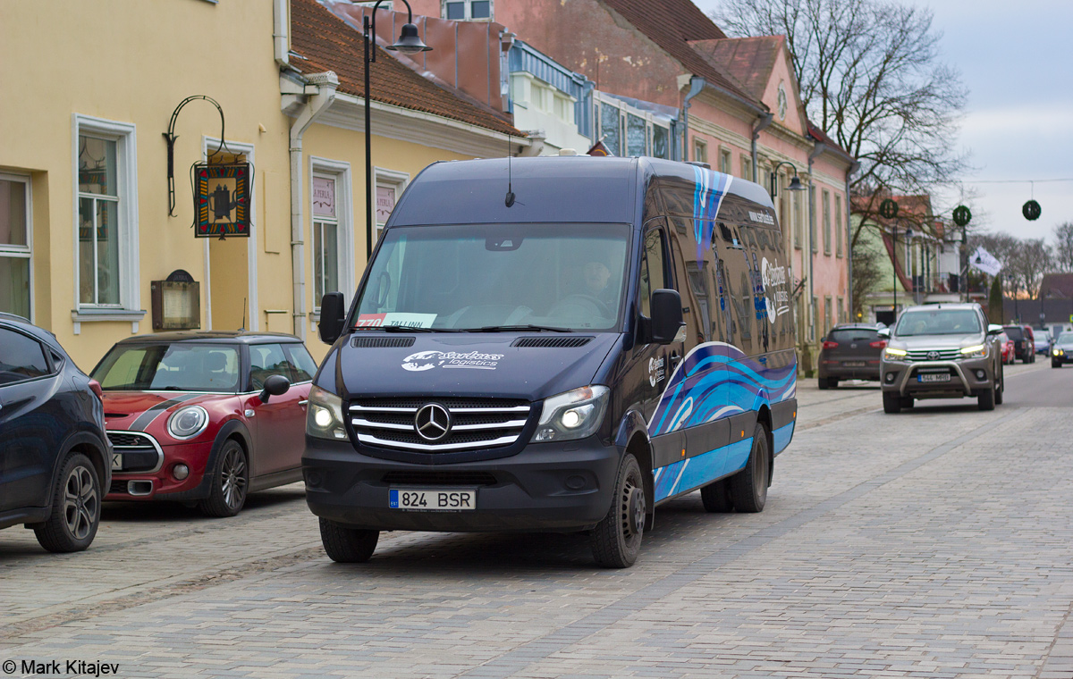 Kuressaare, Mercedes-Benz Sprinter 519CDI № 824 BSR