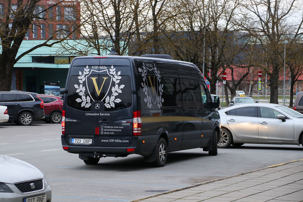Tallinn, Mercedes-Benz Sprinter 315CDI № 723 DBP