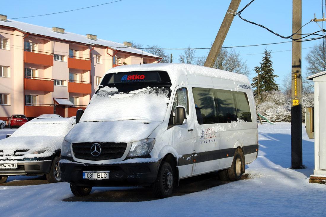 Paide, Mercedes-Benz Sprinter 516CDI № 081 BLC