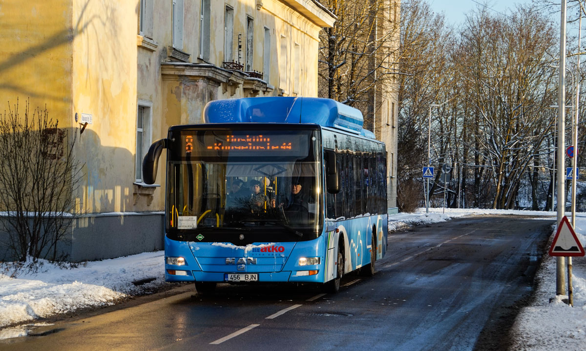 Narva, MAN A21 Lion's City NL313 CNG № 456 BJN