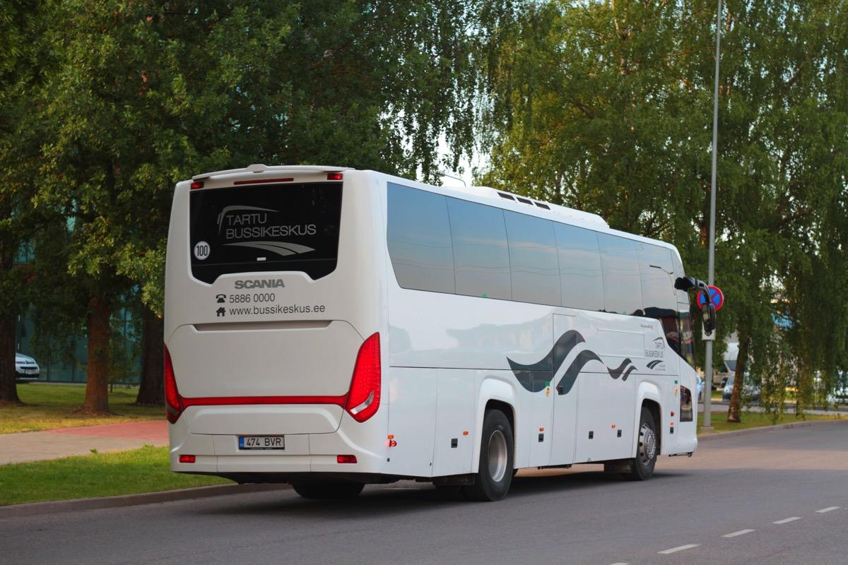 Tartu, Scania Touring HD (Higer A80T) № 474 BVR