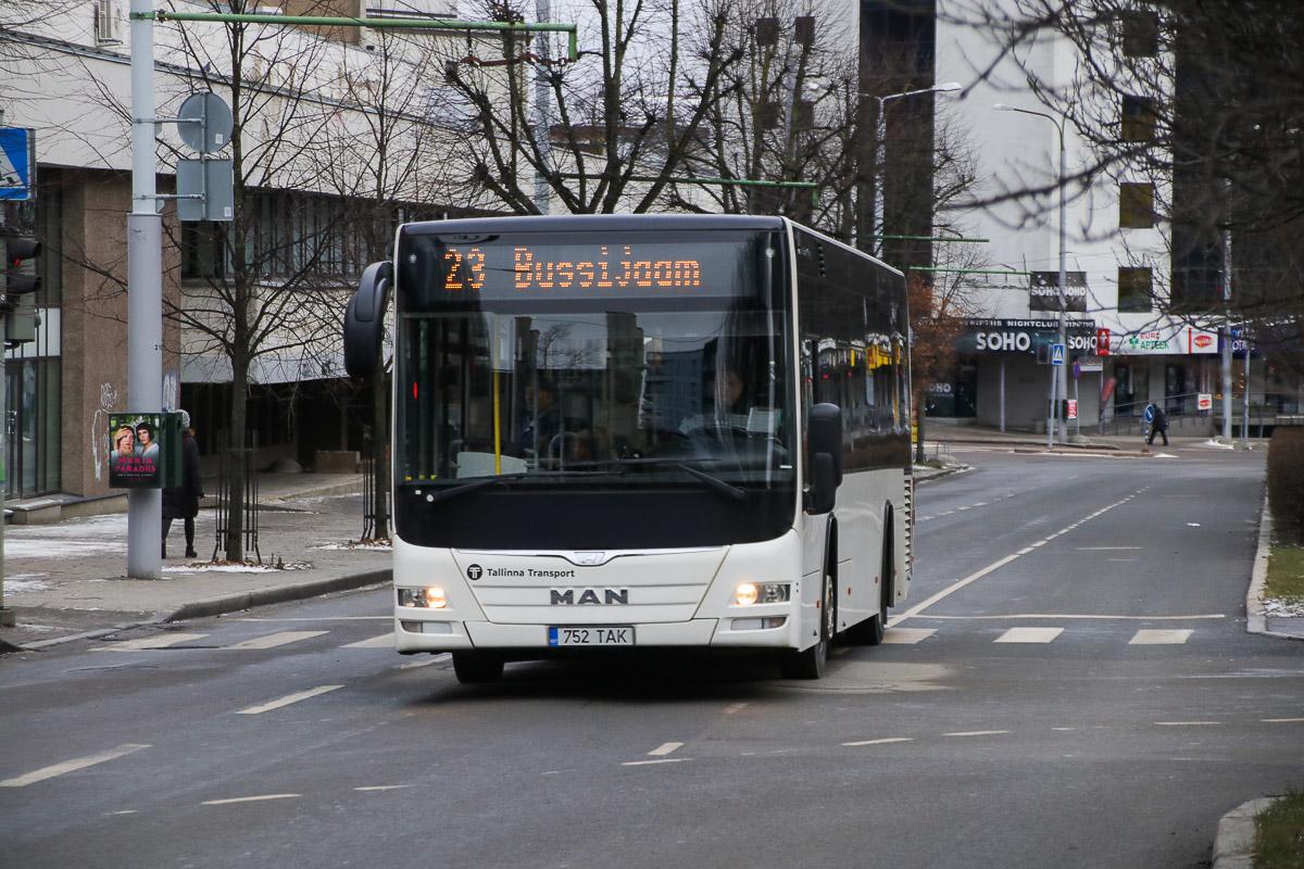 Tallinn, MAN A78 Lion's City LE EL293 № 1752