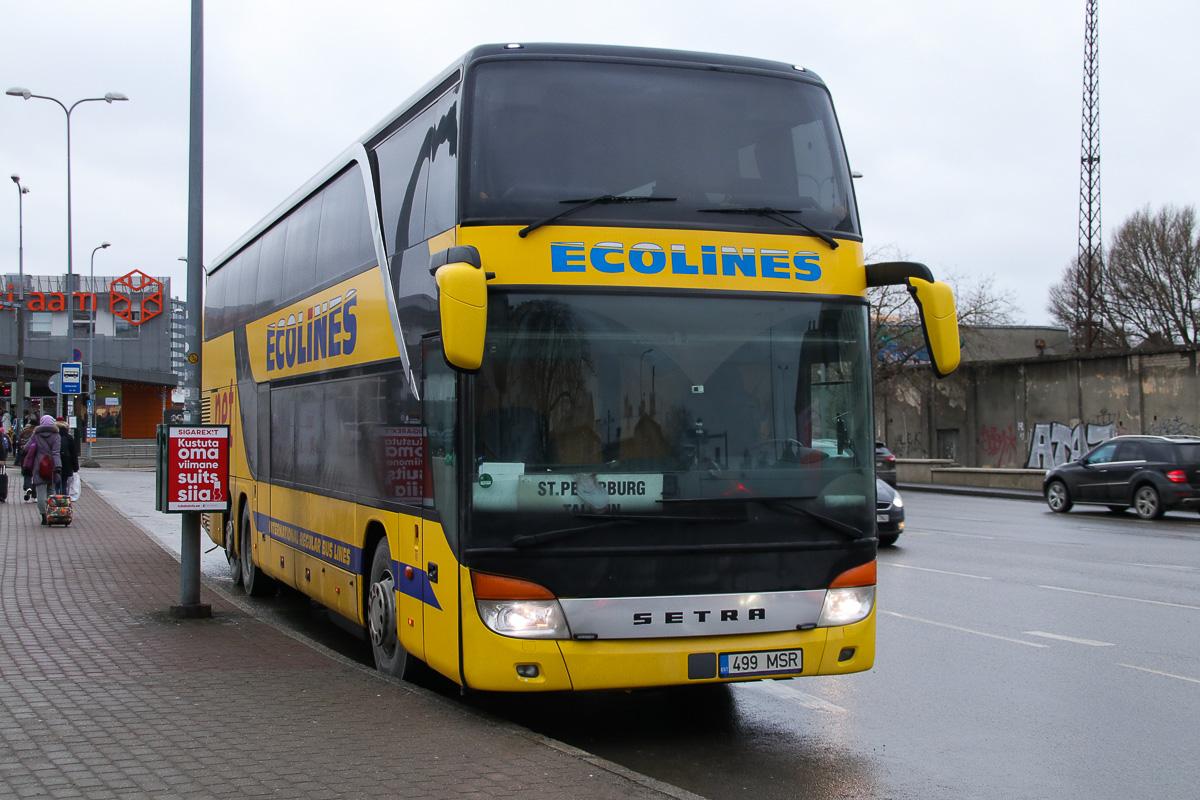 Tallinn, Setra S431DT № 499 MSR