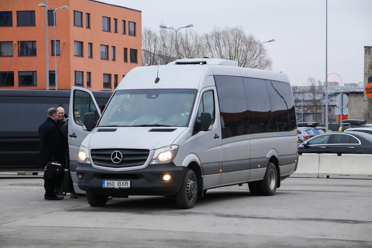 Tallinn, Mercedes-Benz Sprinter 519CDI № 860 BXR