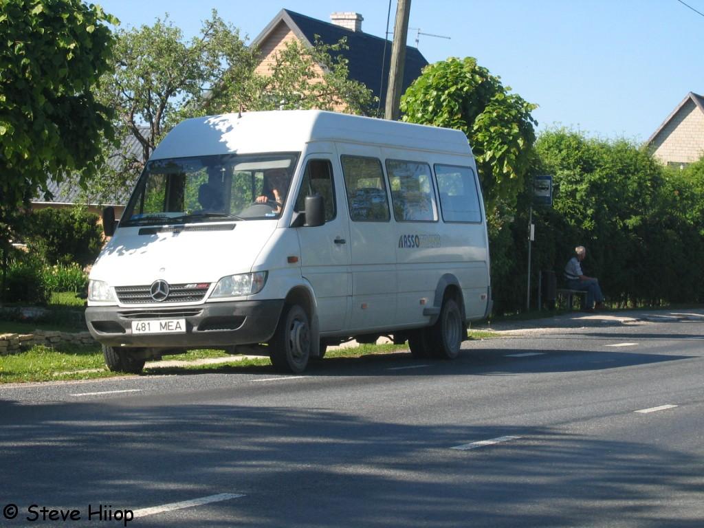Paide, Mercedes-Benz Sprinter 413CDI № 481 MEA