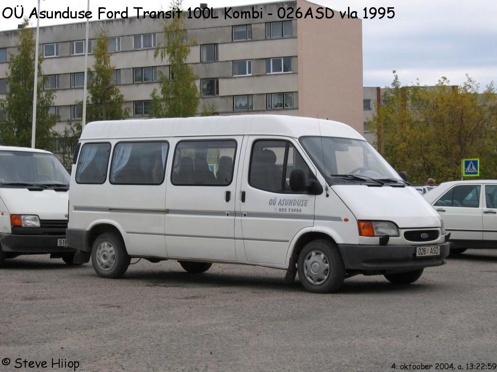 Võru, Ford Transit 100L Kombi № 026 ASD
