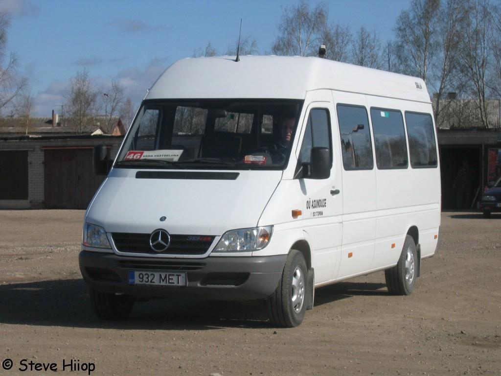 Võru, Mercedes-Benz Sprinter 313CDI № 932 MET