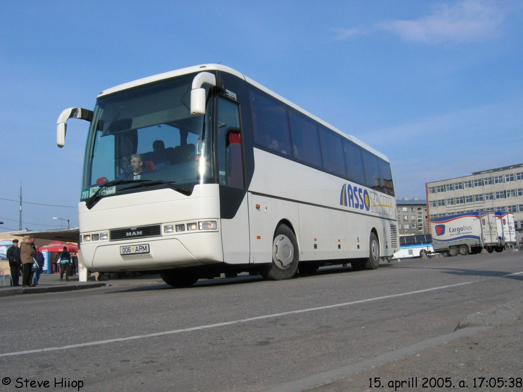 Paide, MAN A13 Lion's Coach RH413 № 006 ARM