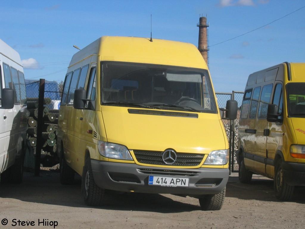 Tartu, Mercedes-Benz Sprinter 313CDI № 414 APN