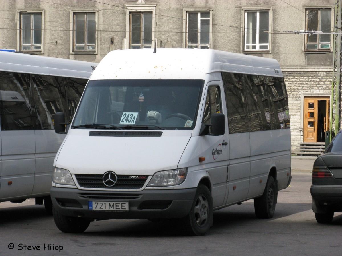 Tallinn, Mercedes-Benz Sprinter 313CDI № 721 MEE