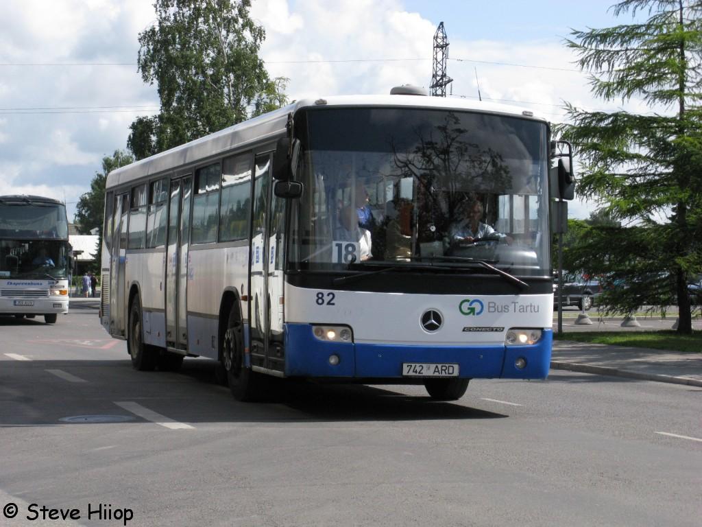 Tartu, Mercedes-Benz Türk O345 Conecto C № 82