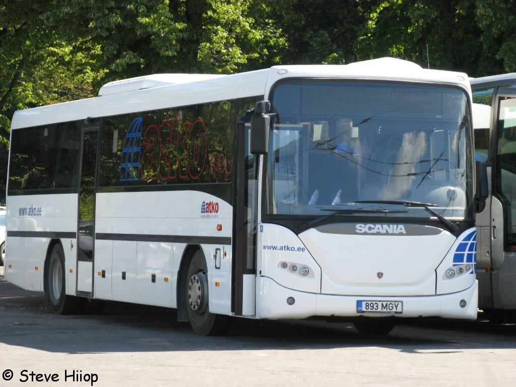 Tallinn, Scania OmniLine IK310IB № 893 MGY