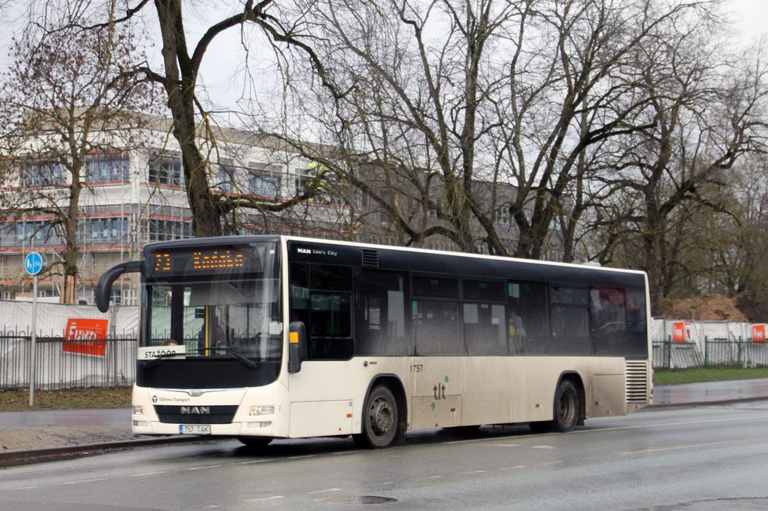 Tallinn, MAN A78 Lion's City LE EL293 № 1757