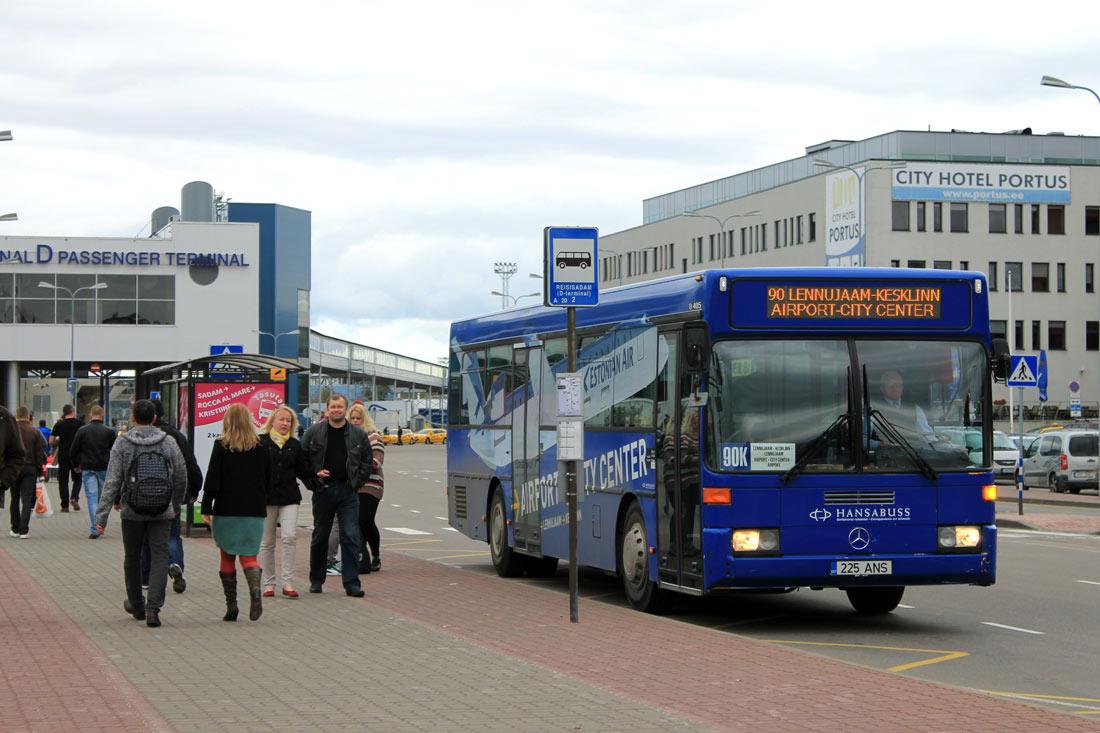 Tallinn, Mercedes-Benz O405 № 225 ANS
