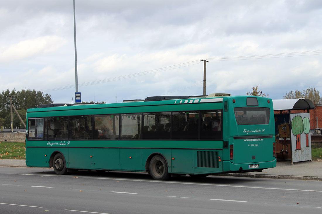 Kohtla-Järve, Vest V10LE № 593 BCX