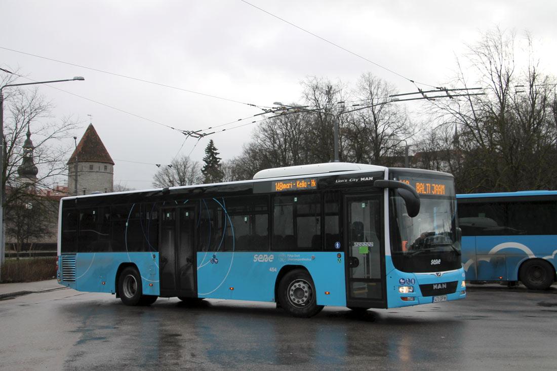 Tallinn, MAN A78 Lion's City LE Ü EL293 № 454