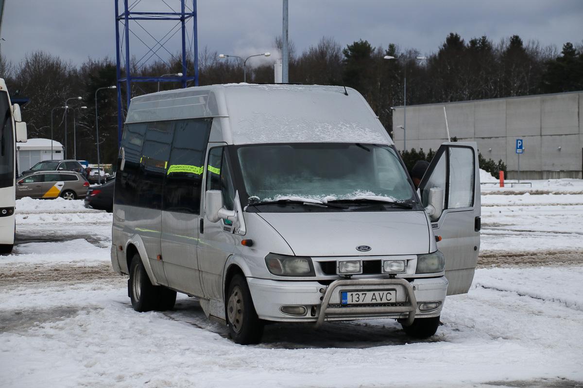 Viljandi, Ford Transit 430L EF Bus № 137 AVC