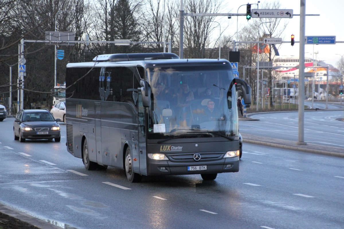 Tallinn, Mercedes-Benz O350-15RHD-II Tourismo № 756 BTK