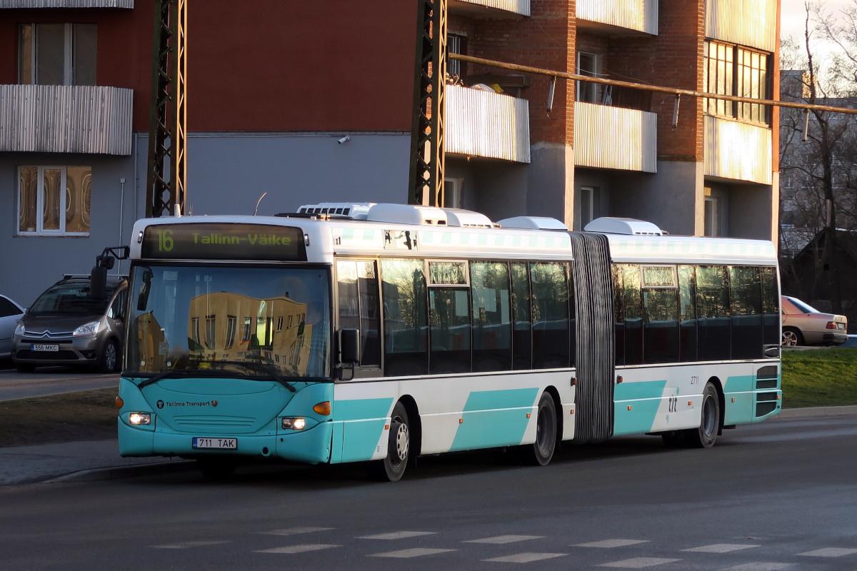 Tallinn, Scania OmniLink CL94UA 6X2LB № 2711