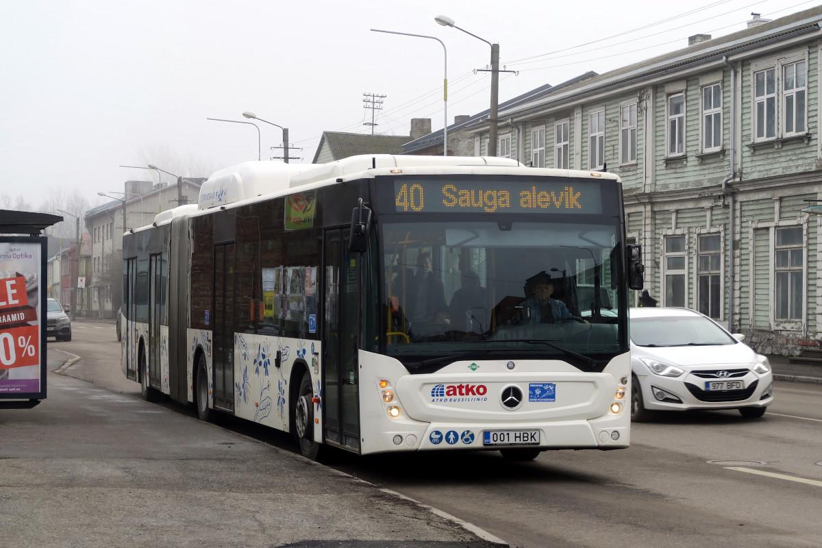 Pärnu, Mercedes-Benz Conecto NGT G № 001 HBK