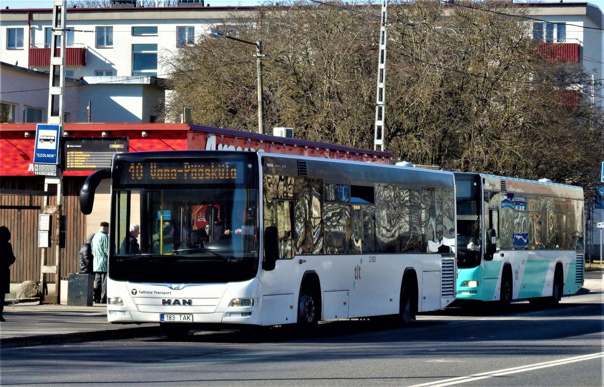 Tallinn, MAN A78 Lion's City LE EL293 № 2183