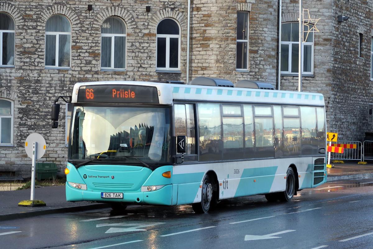 Tallinn, Scania OmniLink CK270UB 4X2LB № 3826