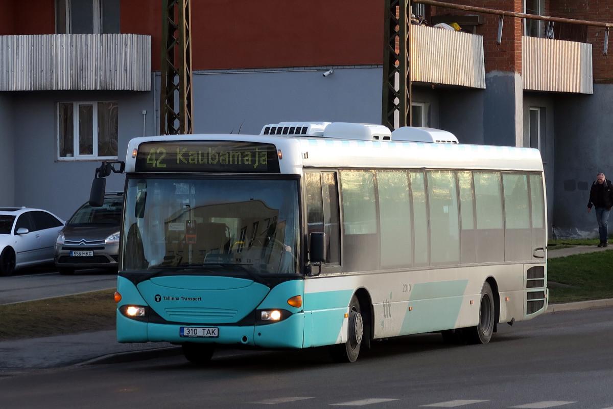 Tallinn, Scania OmniLink CL94UB № 2310