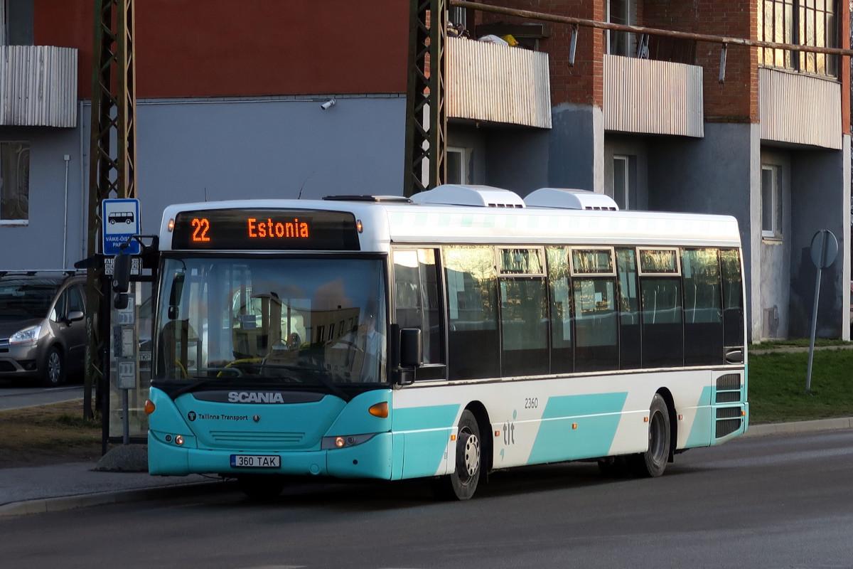 Tallinn, Scania OmniLink CK270UB 4X2LB № 2360