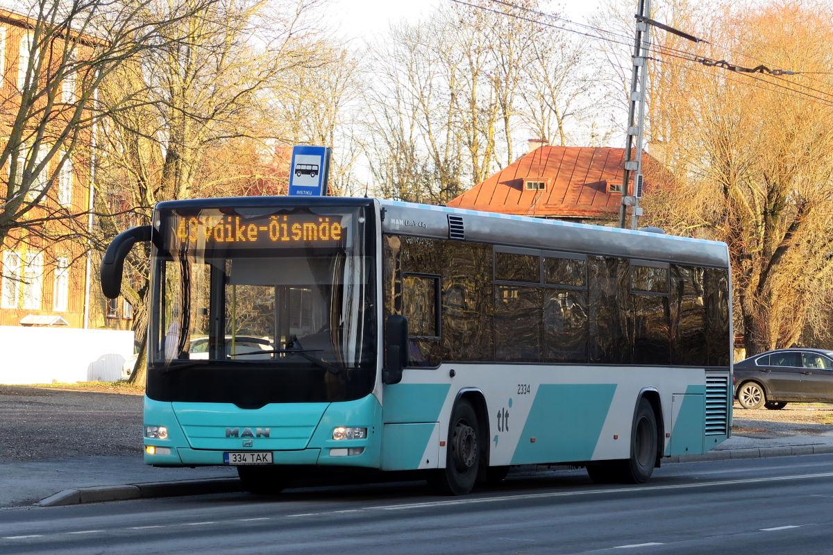 Tallinn, MAN A78 Lion's City LE № 2334