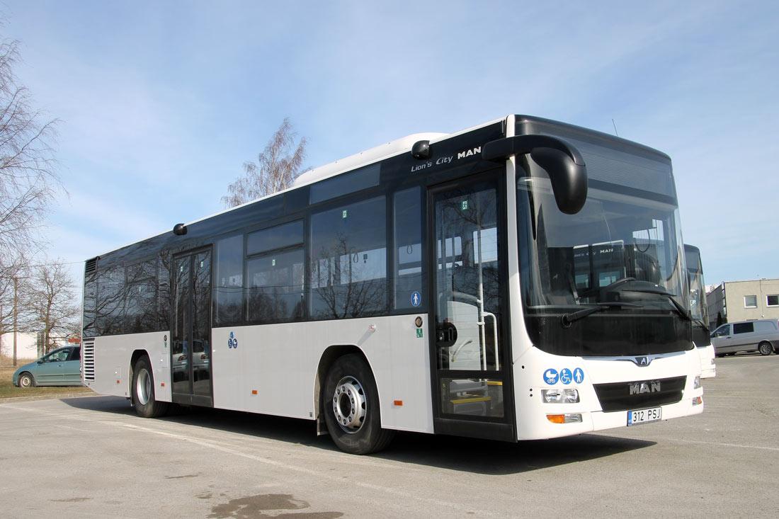 Pärnu, MAN A78 Lion's City LE Ü EL293 № 670