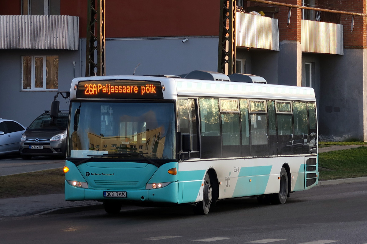 Tallinn, Scania OmniLink CK270UB 4X2LB № 2363