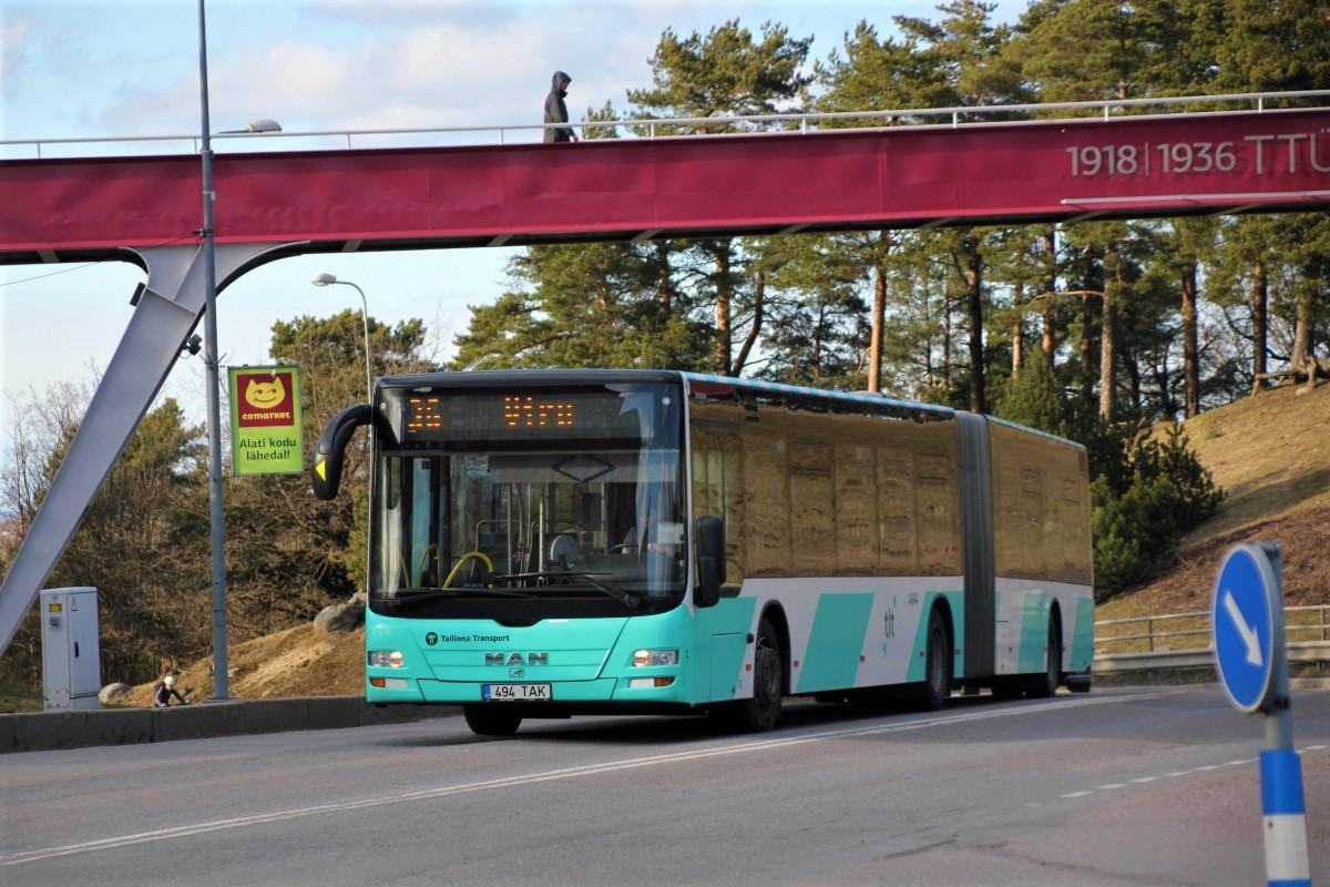 Tallinn, MAN A40 Lion's City GL NG323 № 1494