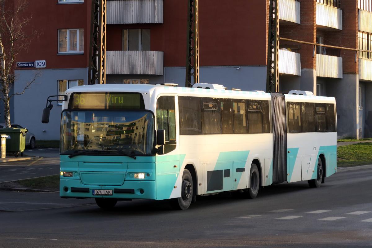 Tallinn, Volvo 8500 № 1074