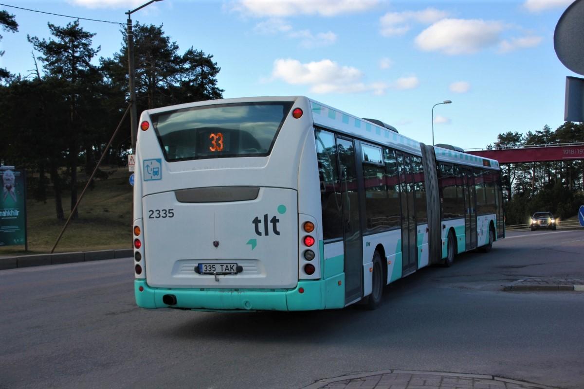 Tallinn, Scania OmniLink CK310UA 6X2LB № 2335