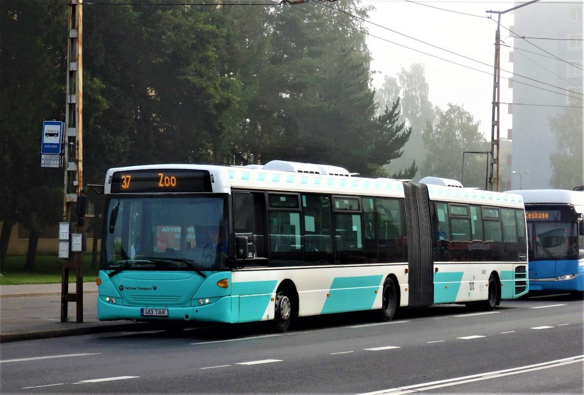 Tallinn, Scania OmniLink CK310UA 6X2LB № 1483