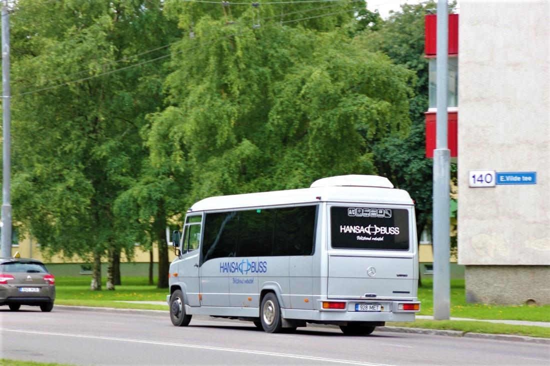 Tallinn, Mercedes-Benz Vario 814D № 928 MET