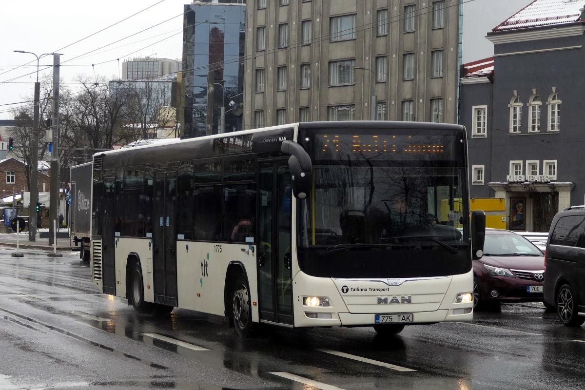 Tallinn, MAN A78 Lion's City LE EL293 № 1775