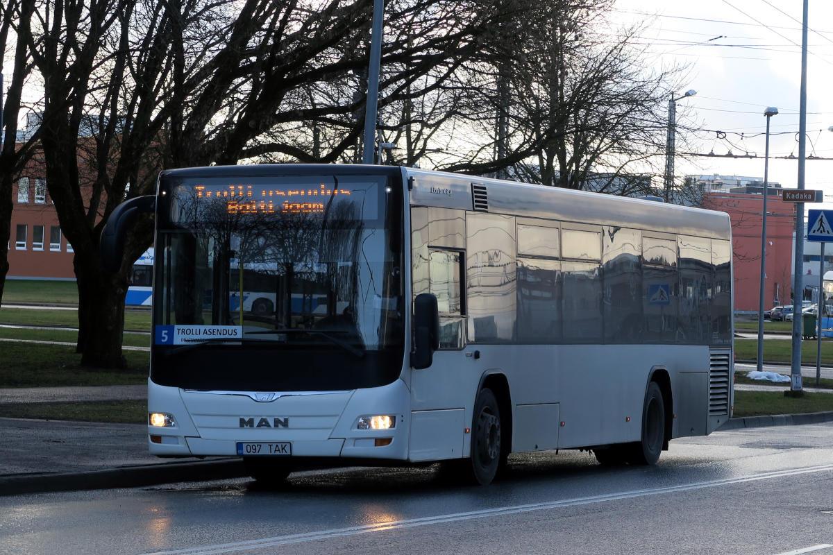 Tallinn, MAN A78 Lion's City LE EL293 № 2097