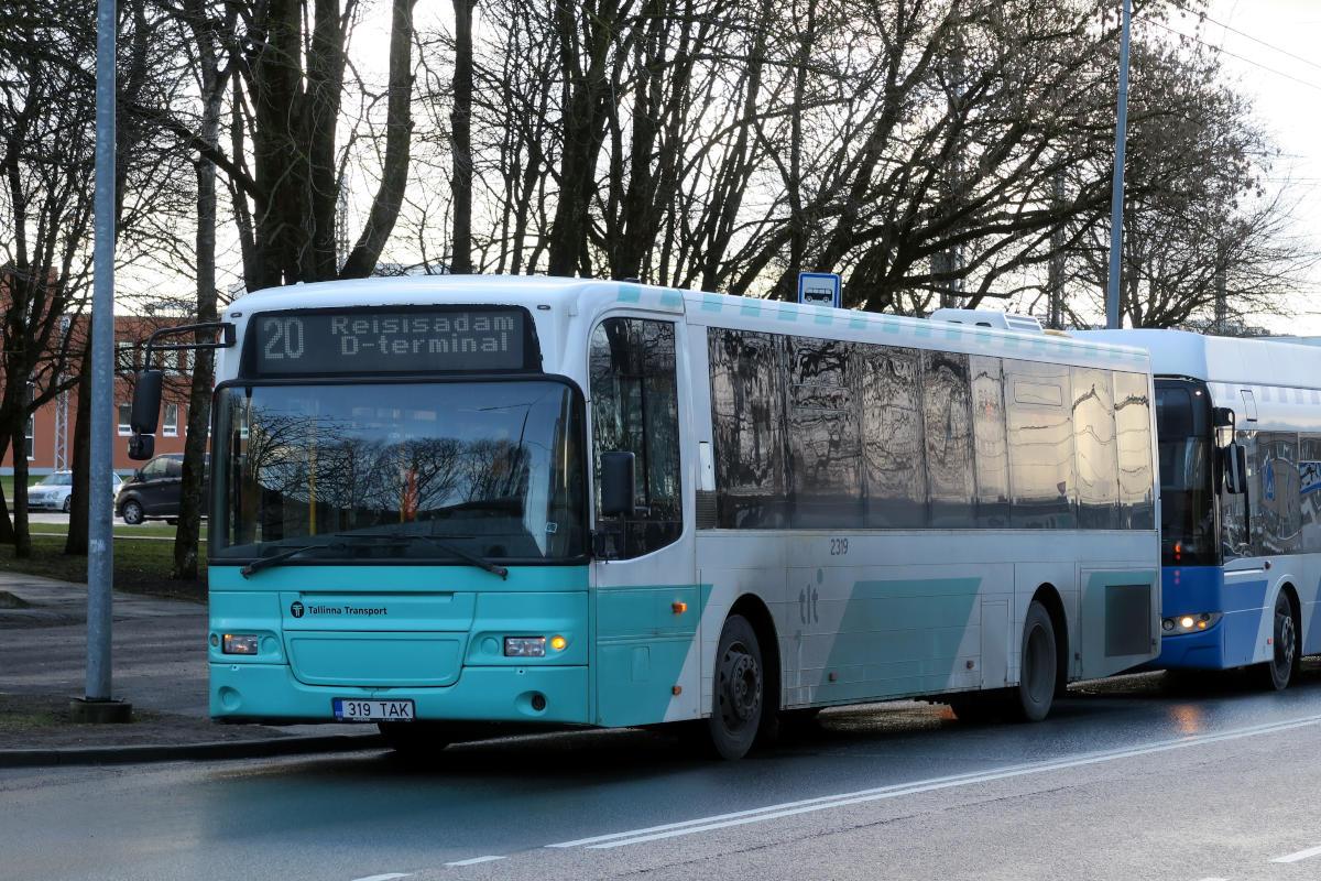 Tallinn, Volvo 8500LE № 2319