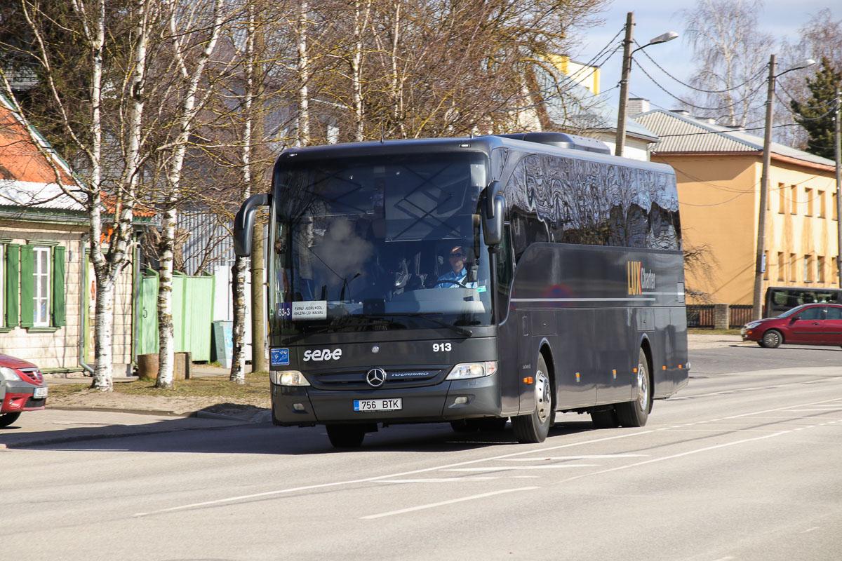 Pärnu, Mercedes-Benz O350-15RHD-II Tourismo № 913