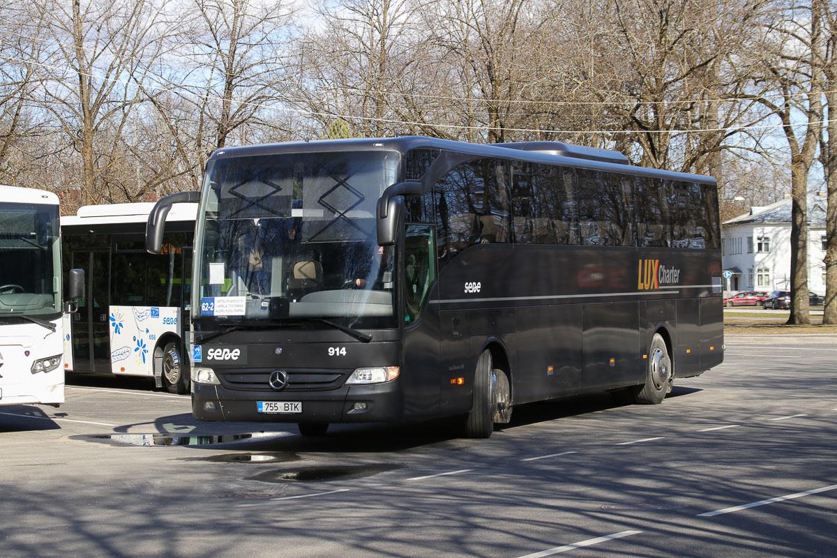 Pärnu, Mercedes-Benz O350-15RHD-II Tourismo № 914