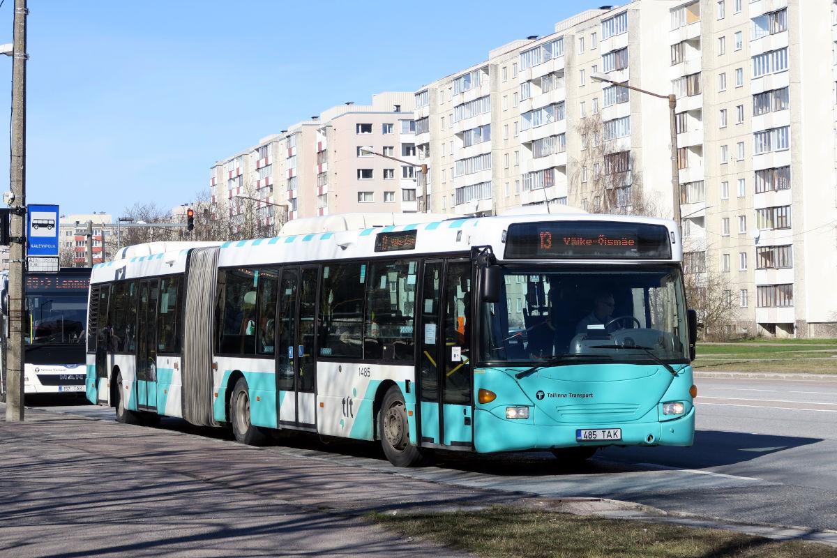 Tallinn, Scania OmniCity CN94UA 6X2 № 1485