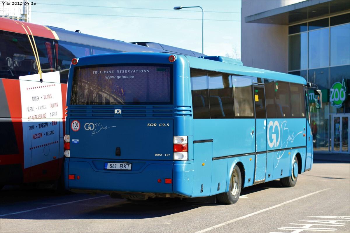 Tartu, SOR C 9.5 № 641 BKT