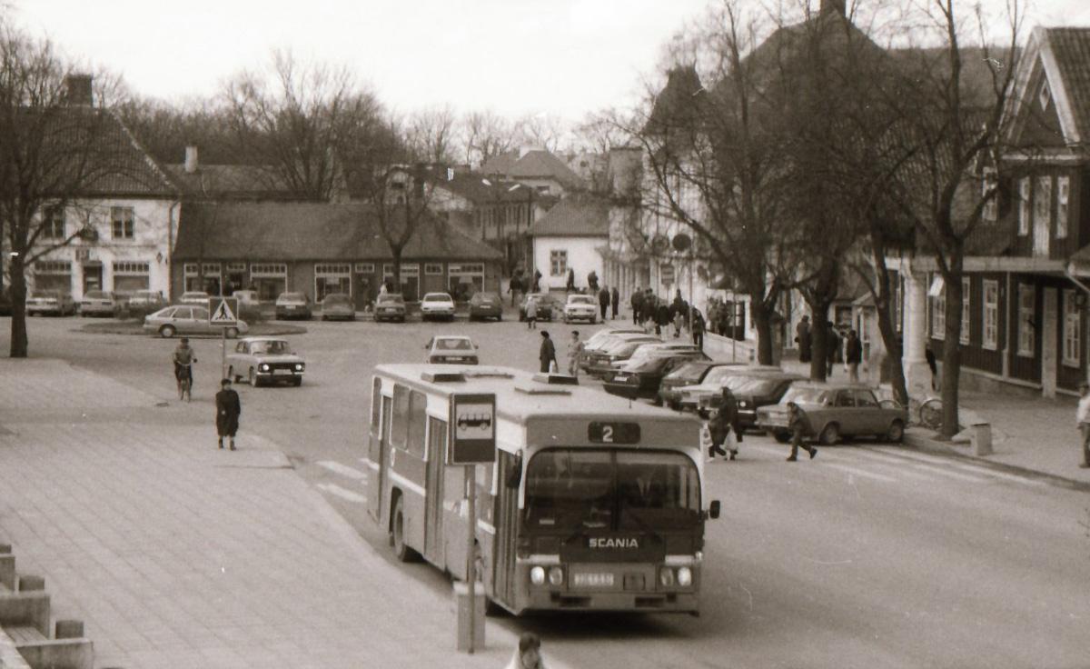 Kuressaare, Scania CR112 № 226 AJU