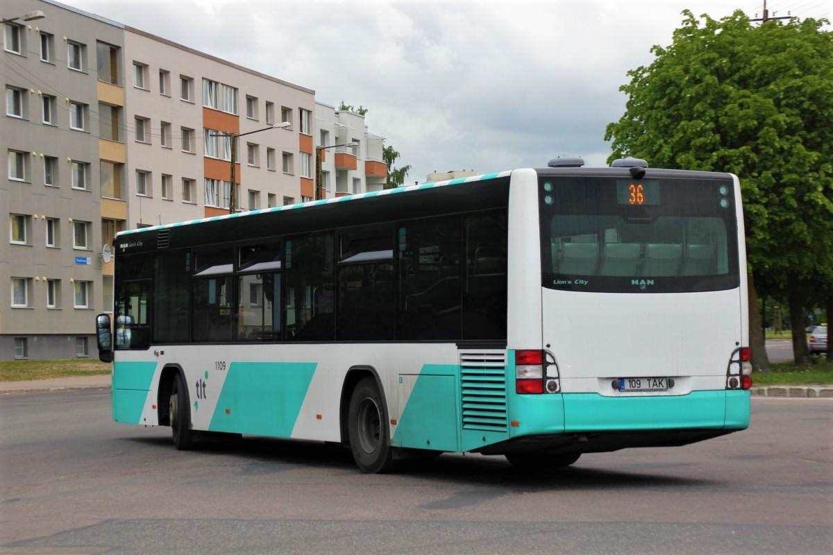 Tallinn, MAN A78 Lion's City LE EL293 № 1109