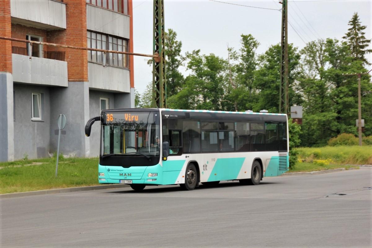Tallinn, MAN A78 Lion's City LE EL293 № 1110