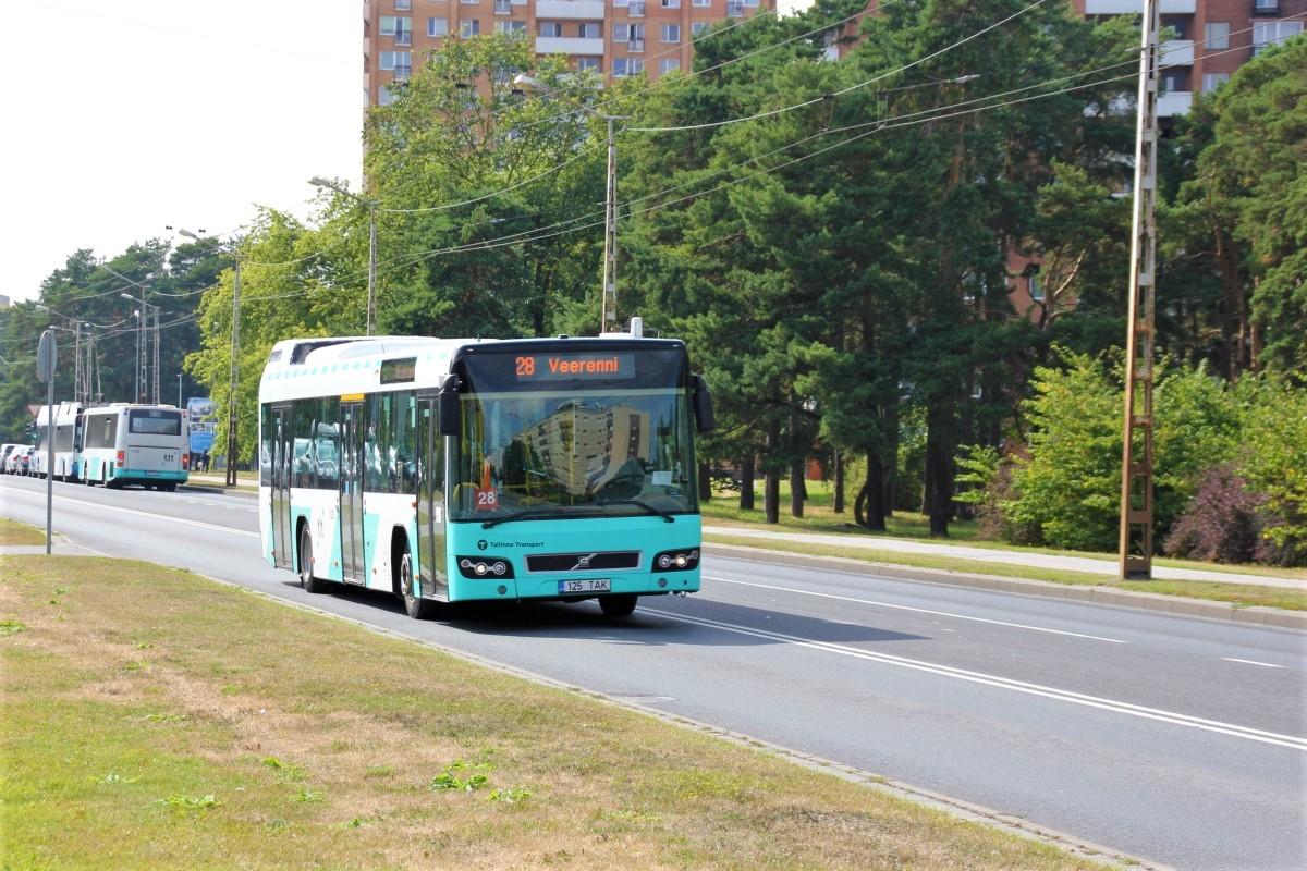Tallinn, Volvo 7700 № 1125